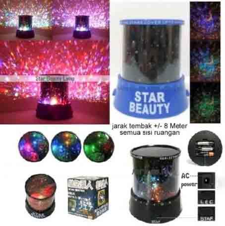Lampu Unik Star Beauty